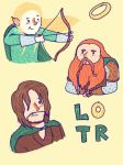lotr stikers by creativa19