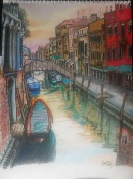 my first town Venice by tonez1