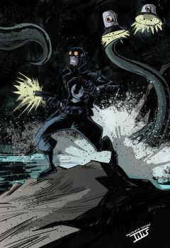 Lobster Johnson by IttoOgamy