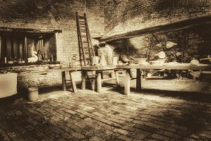 Gainsborough Old Hall Kitchen... by TheBaldingOne