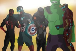 Marvel Heroes by TheMPXY