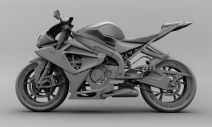 BMW S1000 Model by metonymic
