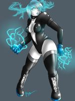 Alt Livewire-DC Comics- by 121gigawatts