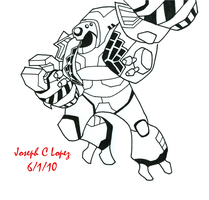Lugnut first try by Cyberwing013