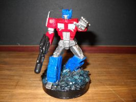 Transformers Optimus Prime custom attacktix figure by Prowlcop