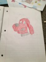 Clifford the Big Red Dog by Simpsonsfanatic33