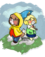 Digby and Isabelle by Naira24