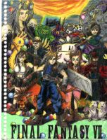 FF7 collage by keikittora