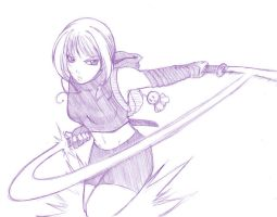 sketch. slice of humble pain by maioceaneyes