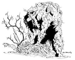 swamp thing by ATLbladerunner