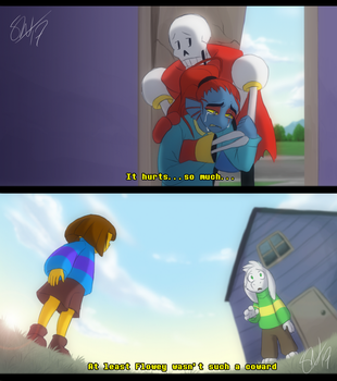 Glitchtale - Love Part I by TC-96