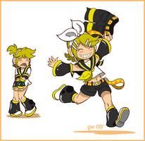 Len Pants. by GreenWiggly