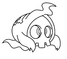 Duskull template by shadowxmephiles