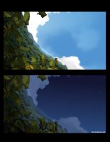 BG wakfu moon night and day by warobruno