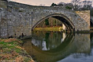 The Old Stone Bridge of Warkworth by Pistolpete2007