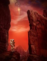 Discovery On The Red Planet by Merrysol66
