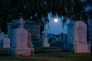 Cemetary Sojourn ~ I by SharkHarrington
