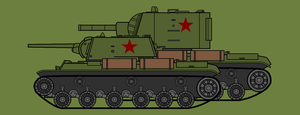 KV tanks, Soviet monsters. by COLT731