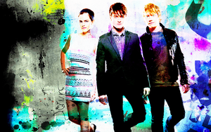 Empire Potter Trio Wallpaper by suicidebyinsecticide