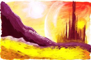 Gallifrey home of the Timelords by Hanni-Elfe