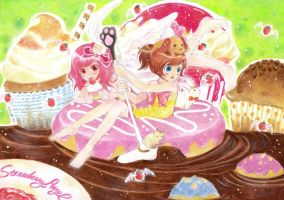 Journey to the world of cake by CHESS-Studio