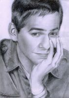 David Archuleta Drawing by missmuffin90