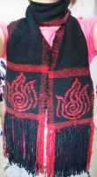 Fire Bending Scarf by ashesonfire