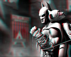 Arkham City 3-D conversion by MVRamsey