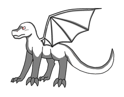 Free Dragon Lineart (OLD) by DragonCartoons