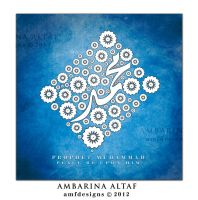 Prophet Muhammad SAWS by AMFdesigns