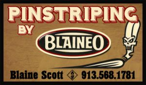 pinstriping business card by SD-Designs