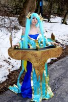 Sona  league of legends by vampire22