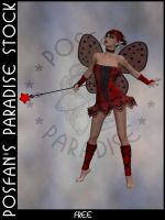 LadyBug Faerie 016 by poserfan-stock