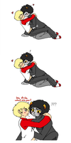 Homestuck - DaveKat nipples holyshit by Cloud-Kitsune
