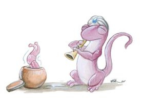 The Slug Charmer by ursulav