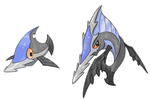 The Sawshark Fakemon by Neliorra