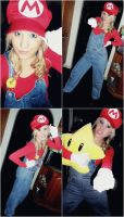 Girl Mario by khall47
