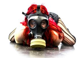 Gas Mask Girl 6 by Studio5Graphics