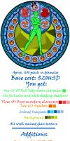 Stained Glass Price List -Sept 2012- by Akili-Amethyst