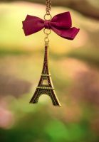 The eiffel tower by Pamba