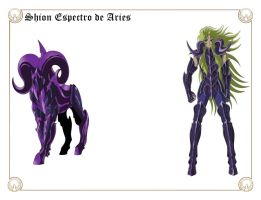 Shion Espectro de Aries by Javiiit0