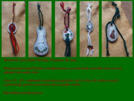 2011 Holiday Ornaments 2 by lupagreenwolf