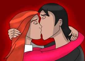 Gwevin Kiss by assilem7772010