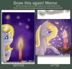 Draw this again! - Sadness - by PlaviLeptir