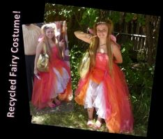 Recycled Fairy Costume! by Linksliltri4ce