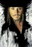 Captain Jack Sparrow by Rajacenna