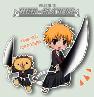 BLEACH - SOUL-SLAYERS by Nekozumi