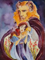 Beauty and the Beast by Noctuam