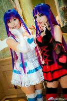 Angel and Devil Stocking by HaruNyanChuu-Cafe