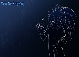 Wallpaper 1 - Sonic by SiscoCentral1915